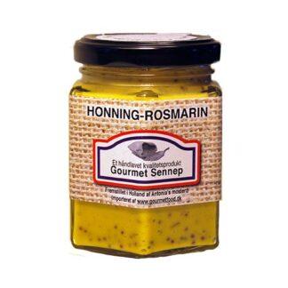 Sennep med rosmarin og honning