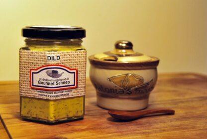Sennep med dild og krukke - Gourmetfood en verden af sennep