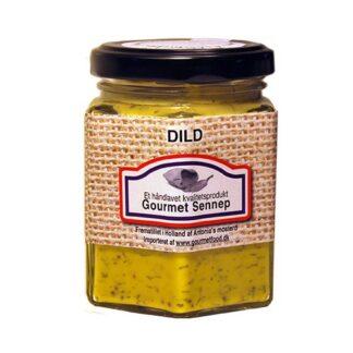 Sennep med dild - Gourmetfood en verden af sennep